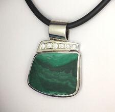 Malachite Pendant, Handmade pendant