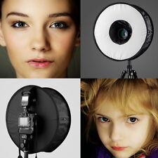 "photo 18""/45cm SpeedLight Flashgun Ring Flash RoundFlash Softbox Diffuser camera"