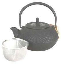 Black Hobnail Cast Iron Teapot 15oz #TB1-05