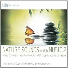 Nature Sounds with Music 2: Music for Deep Sleep & Relaxation -OCEAN FOREST RAIN