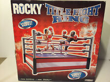 Jakks Pacific~ Rocky Title Fight Ring ~ HARD TO FIND
