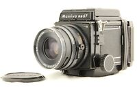 【 EXC+5 】 MAMIYA RB67 Pro S + SEKOR NB 90mm f/3.8 + 120 FilmBack from JAPAN