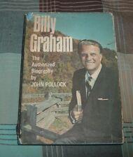 1966 BILLY GRAHAM THE AUTHORIZED BIOGRAPHY John Pollock hc/dj