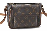 Authentic Louis Vuitton Monogram Viva Cite PM Shoulder Bag M51165 LV A9077