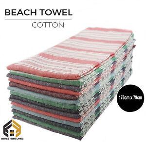 MULTIBUY - TURKISH HAMMAM TOWEL COTTON BATH TOWEL SPA YOGA BEACH GYM