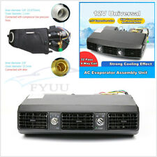 DC12V 80W Universal A/C 32 Pass Coil Underdash Evaporator 3 Speed&Accessory Kit