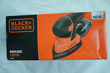 Black & Decker KA2000 Mouse Schleifer Dreieckschleifer 120 W + Zubehör