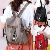 Womens Backpack PU Leather Anti-Theft Travel Rucksack Satchel Shoulder Bag New