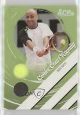 2006 Ace Authentics Heroes & Legends Ball/Towel /250 Andre Agassi #CCR-10