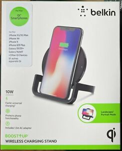 Belkin BOOST↑UP™ Wireless Charging Stand 10W for Apple, Samsung (Universal)