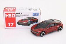 Takara Tomy Tomica #17 BMW i8 box Scale 1//61 Diecast mini toy car japan 2017