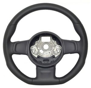 Leather Steering wheel fit to Volkswagen UP Tuning 30-2922
