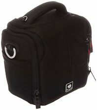 KATA KT Dl-dc-435 Shoulder Bag for Compact Camera With Attached Zoom Lens and AC