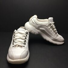 Skechers Sports Premium White Leather Shoes Womens Size 7.5 (W-144)