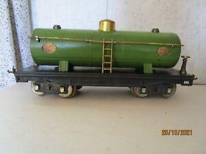 Lionel, Standard Gauge, 215, Green Tank Car