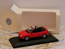 MINICHAMPS VW GOLF RED DEALERS EDITION NEW 1:43