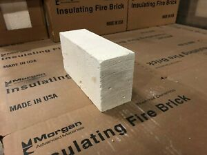 Insulating FireBrick Thermal Ceramics  K-23 IFB 2.5""