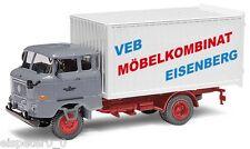 Busch 95109 , Espewe: W50L Mk » VEB möbelkom. Eisenberg «, H0 vehículo modelo 1: