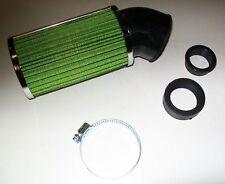 Filtre à air Type green cylindrique Couleur vert  scooter moto