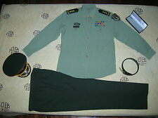 Obsolete 07 China PLA 2nd Artillery 3 Stars General Summer Long-sleeved Uniform
