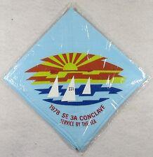 1978 North Carolina Area SE3A Conclave Neckerchief Klahican 331 Host [FL2178]