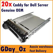"Genuine Dell 3.5"" SAS SATA Server Caddy Tray Sled HDD D981C F9541 Nf467"