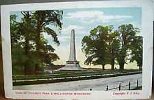 Irish Postcard WELLINGTON MONUMENT PHOENIX PARK Dublin Ireland F.F. & Co. Frith