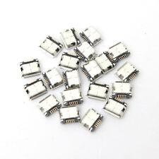 40 Pcs New Mini Micro USB Type B Female 5 Pin SMT SMD DIP Socket Connector Port