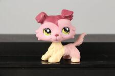LPS #1723 Collection Figure Plum Cream Mauve Collie Dog Puppy
