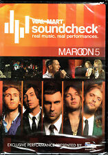 Maroon 5 - WalMart Soundcheck, BRAND NEW FACTORY SEALED DVD (2007, A&E)