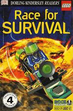 LEGO READER RACE TO SURVIVAL - Dorling Kindersley - Proficient Readers Level 4