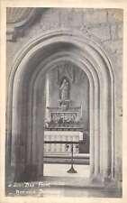 Frome England St John Church Norman Door Way Real Photo Antique Postcard K44090