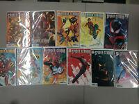 Spider-Geddon #1 Variant Set 11 Covers 1:25 Garron Bagley Nauck Marvel 2018