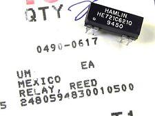 Agilent HP Keysight 0490-0617 Relay Dry Reed 1C 5VDC-Coil 0.25A 28VDC 200-Ohm th