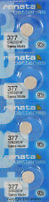 4 pc 377 Renata Watch Batteries SR626SW FREE SHIP 0% MERCURY