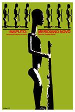 Movie Poster 4 film Maputo Meridiano Novo.African.Room home art decor design