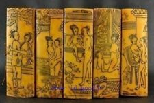 old antique Western Art Shunga Erotic Collectible Exquisite bone meal book