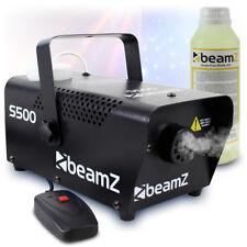 Beamz S500 Christmas Halloween Smoke Fog Effects Machine Fluid 500W UK Stock
