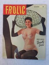 Vintage FROLIC Magazine December 1951 Vol. 1, No. 3