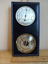 """Vintage Barostar Wall Barometer Thermometer Made In France 5.5"""" x 10.5"""""""