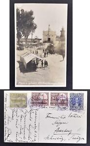 GUATEMALA to SWITZERLAND 1931 Richly Franked CICHICASTENANGO Photo Pic PPC to...