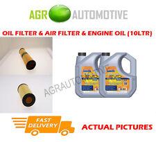 DIESEL OIL AIR FILTER + LL 5W30 OIL FOR MERCEDES-BENZ E320 3.2 204 BHP 2002-06