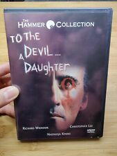To The Devil A Daughter (1976) - DVD - Christopher Lee Widmark Horror Film Movie