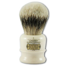 Simpsons Chubby 1 Super Badger Cabello Brocha De Afeitar En Crema
