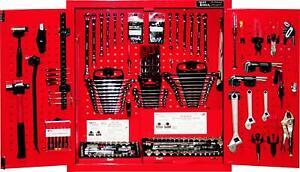 303 Piece SAE/Metric Wall Cabinet Tool Set