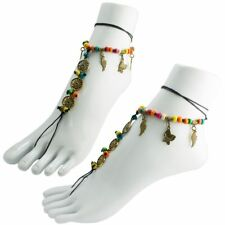 with Nautical Sun Beach Beaded Anklet Chain