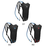 5L Bike Hiking Rucksack Backpack Hydration Pack Helmet Water Bladder Bag Unisex