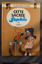 BD sophie n°12 cette sacrée sophie réédition 1985 TBE jidéhem