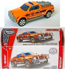 Rescue 4x4. Matchbox Fire Department. MBX Heroic Rescue. FHH33 FHX7. New in Box!
