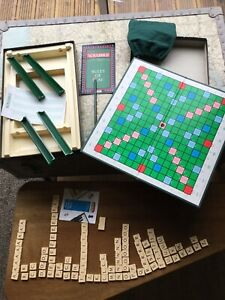 Vintage Spears Scrabble Original Board Game Boxed With Score Pad
